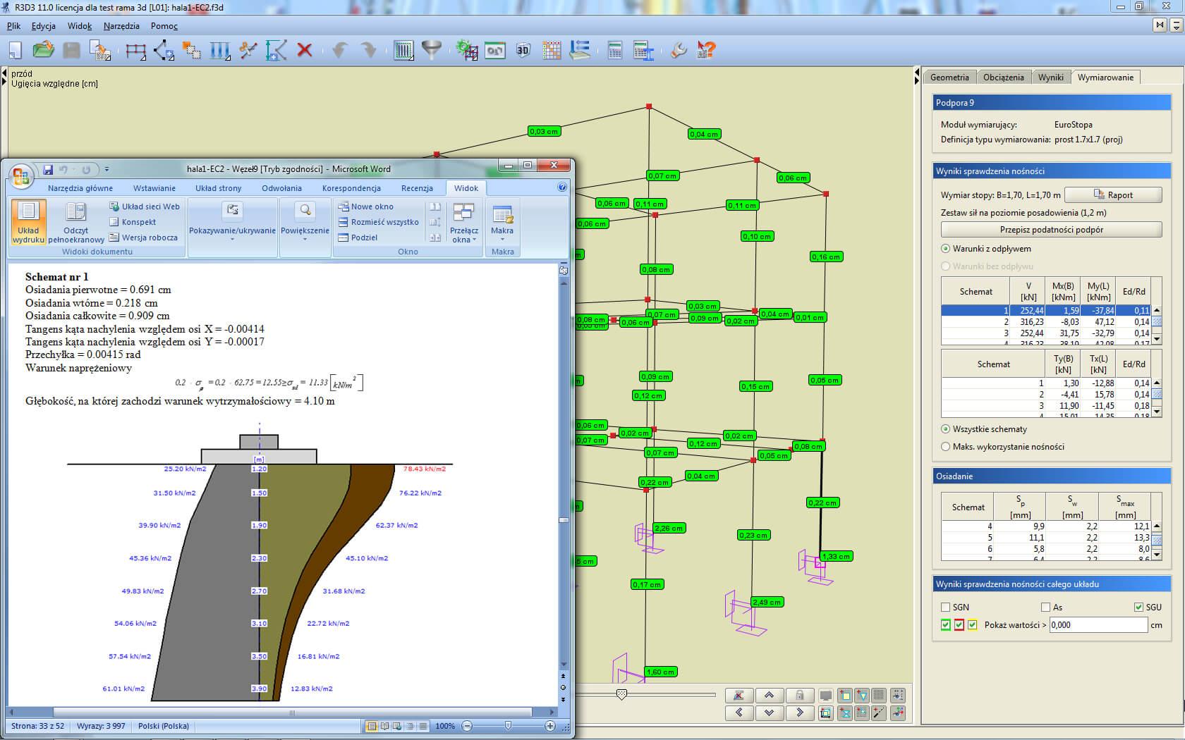 Program EuroStopa dla R3D3-Rama 3D