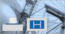 Program EuroZłącza: ZAKOTWIENIE SŁUPA DWUTEOWEGO + DXF