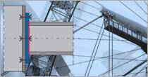 Program EuroZłącza SŁUP-BELKA DOCZOŁOWE + DXF