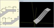 Program Konstruktor - Schody płytowe