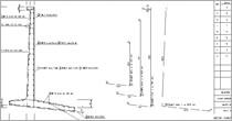 Program Konstruktor - Rysunki DXF - Ściana oporowa