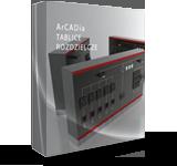 ArCADia-TABLICE ROZDZIELCZE 2 program CAD dla budownictwa