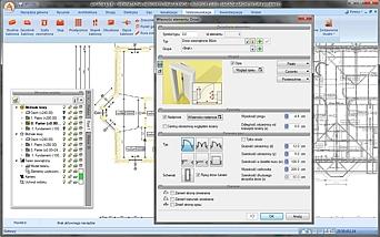Okno właściwości obiektu w systemie ArCADia z modułem ArCADia-INWENTARYZATOR
